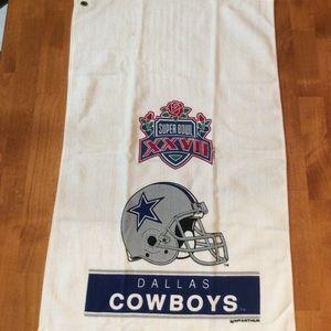 dallas cowboys Super Bowl 1992 sports towel